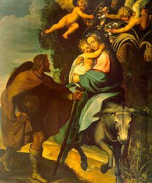 Bartolomé Carducho - The Flight into Egypt.jpg