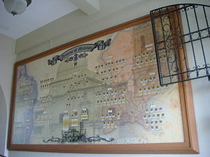 Diocese of Malolos - Diocese of Malolos' present Organizational chart photo in the convent.