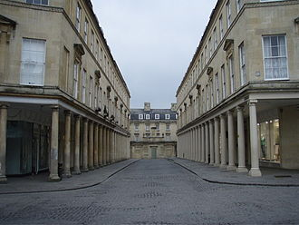 Persuasion (1995 film) - Much of Persuasion was filmed in Bath locations such as Bath Street