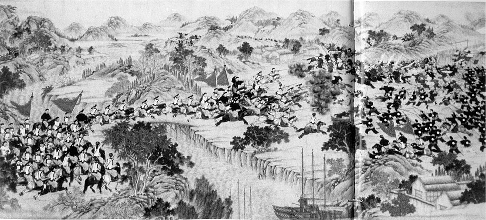 Battle at the Wei River (Weihe)