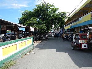 Bay, Laguna - Market area before the renovation.