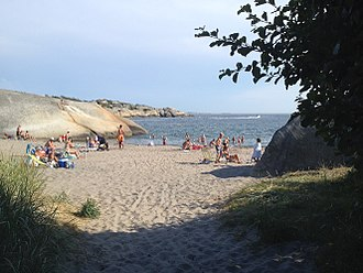 Tjølling - Beach at Ula.