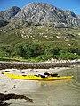 Beach beneath Sgurr An Eilein Ghiubhais - geograph.org.uk - 904713.jpg