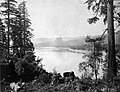 Beacon Rock on Columbia River 1867.JPG