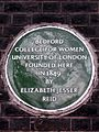 Bedford College for Women University of London founded here in 1849 by Elizabeth Jesser Reid.jpg