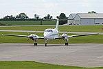 Beech 200 Super King Air 'G-IASM' (40064445520).jpg
