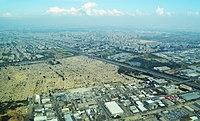 Beit HaAlmyn HaDarom Holon-Bat Yam Aerial View.jpg