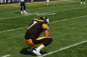 Pittsburgh Steelers quarterback