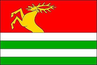 Benešov (Blansko District) - Image: Benešov vlajka