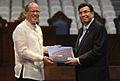 Benigno S. Aquino III with Iglesia ni Cristo (INC) Executive Minister Brother Eduardo Manalo.jpg