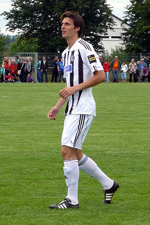 Benjamin Gorka - Gorka playing for VfR Aalen
