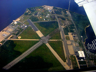 Floyd Bennett Field - Aerial view of Floyd Bennett Field in 2006