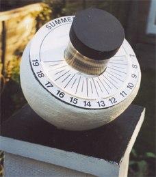 Benoy sun clock