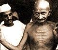 Beohar Rajendra Sinha and Gandhi.jpg