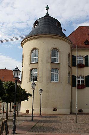 Bergzabern Palace - Image: Bergzabern westliche Turm der Südseite