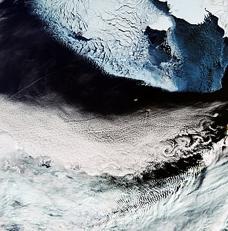 Sentinel-3 - Image: Bering Sea ESA376705