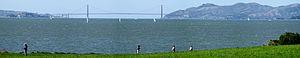 César Chávez Park - The park provides a westward view onto Alcatraz, the Golden Gate Bridge and San Francisco Bay.