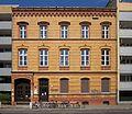 Berlin, Kreuzberg, Wrangelstrasse 128, 80. Gemeindeschule, Lehrerwohnhaus.jpg