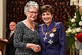 Bernadette Hall MNZM investiture.jpg