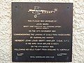 Bert Hinkler Plaque, Members' Stand, Eagle Farm Racecource.jpeg