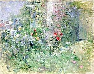Le jardin à Bougival