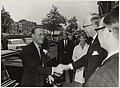 Bezoek van Z.K.H. Prins Bernhard aan de Koninklijke Hollandsche Maatschappij der Wetenschappen waar hij werd verwelkomd door Jhr. mr. C.C. van Valkenburg.JPG