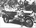 Bhaktisiddhanta in car.jpg