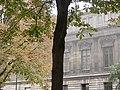 Bibliothèque nationale de France - site Richelieu - arbres square Louvois.jpg