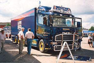 Big Truck Exhibition in Tuusula, Finland, 1999...