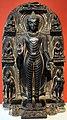Bihar, stele con gli otto grandi eventi della vita di buddha, peiodo pala, X secolo.jpg
