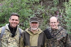 Paul Steinhardt -  On location at the remote Listventovyi stream in the Kamchatka Peninsula in 2011 (left to right): Luca Bindi (University of Firenze, Italy), Valery Kryachko (IGEM, Russia) and Paul Steinhardt (Princeton, USA)