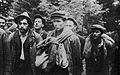 Bir group members taken hostage at Zatwarnica 1946.jpg