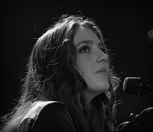 Birdy (singer) - Birdy at the New Pop Festival in Baden Baden, September 2013