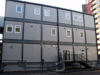 Portable building - Birmingham New Street station