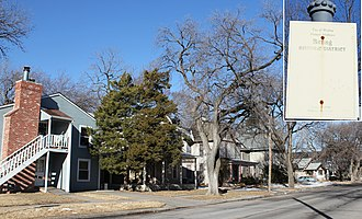 Riverside, Wichita, Kansas - Image: Bitting Historic District