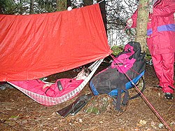 meaning of camping