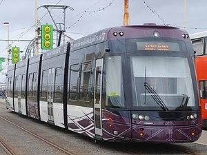 Flexity 2 (Blackpool) - Image: Blackpool Transport 001 (9124470029)