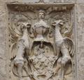 Blason à l'entrée du Château de Corcelles en Beaujolais.png