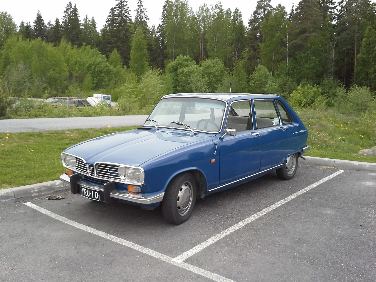 file blue renault 16 ts left wikimedia commons. Black Bedroom Furniture Sets. Home Design Ideas
