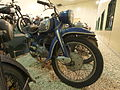 Blue and silver colored NSU motorcycle at the Ford museum pic2.JPG