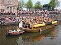 Boat 40 HVO-Querido, opvang, woonbegeleiding, dagactiviteiten, Canal Parade Amsterdam 2017 foto 1.JPG