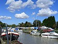 Boats on the River Stour at Sandwich - geograph.org.uk - 1475043.jpg