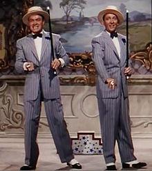 Bing Crosby con Bob Hope in La principessa di Bali (1952)