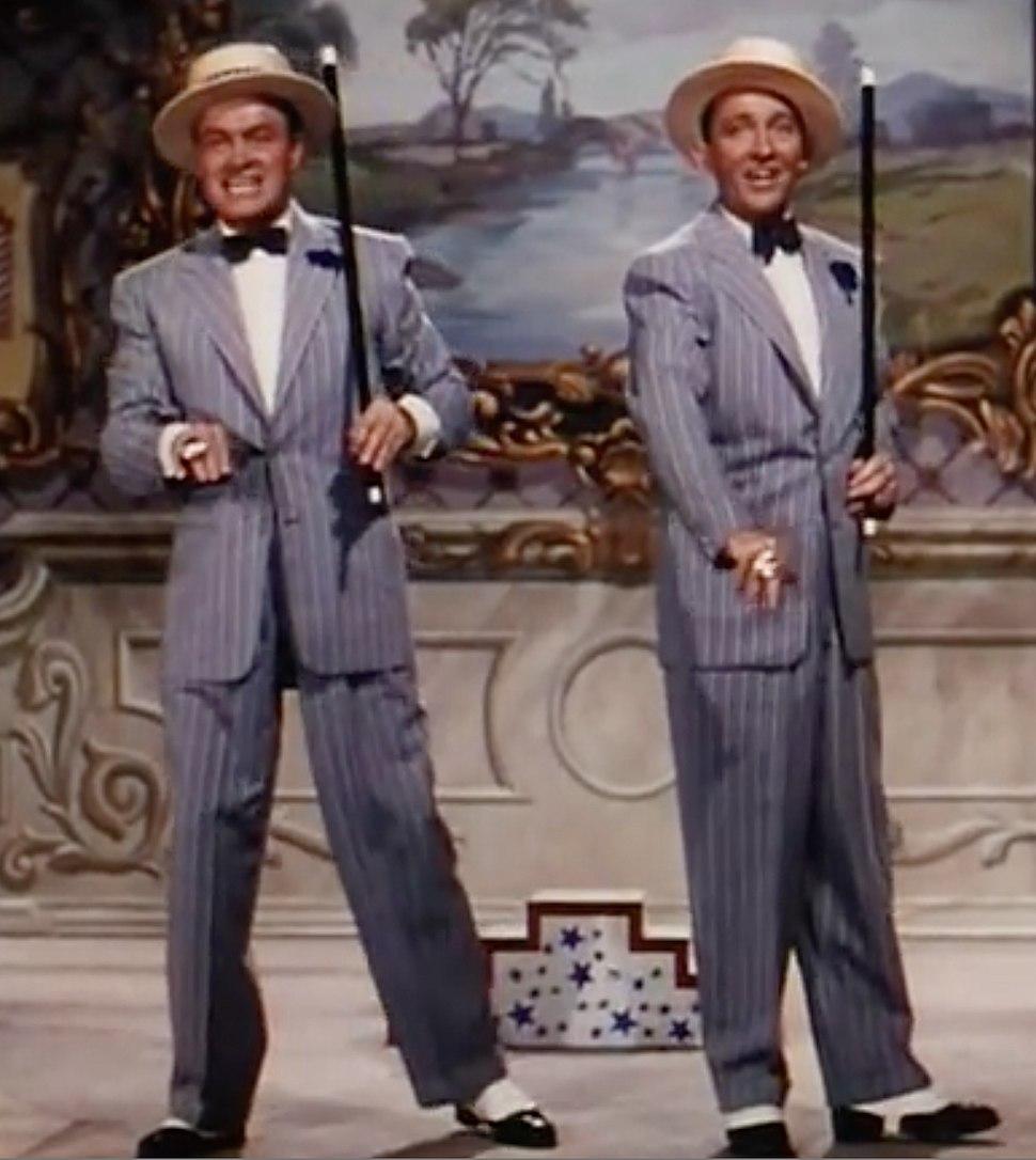 Bob Hope and Bing Crosby in Road to Bali