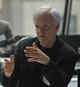 Bob Kerrey at Hacking Education event.jpg