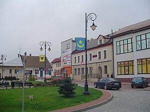Bobowa - Bobowa town square