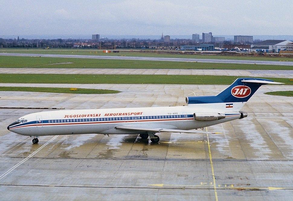 Boeing 727-2H9-Adv, JAT - Yugoslav Airlines AN1083687