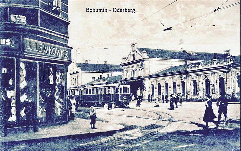 File:Bohumín Lewkowitz Jewish shop.jpg