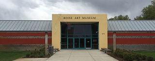 Art museum in Boise, Idaho