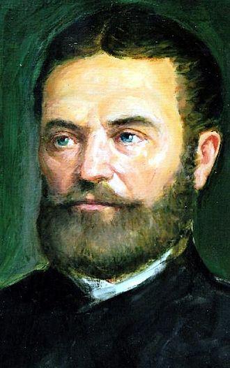 János Bolyai - Image: Bolyai János (Márkos Ferenc festménye)